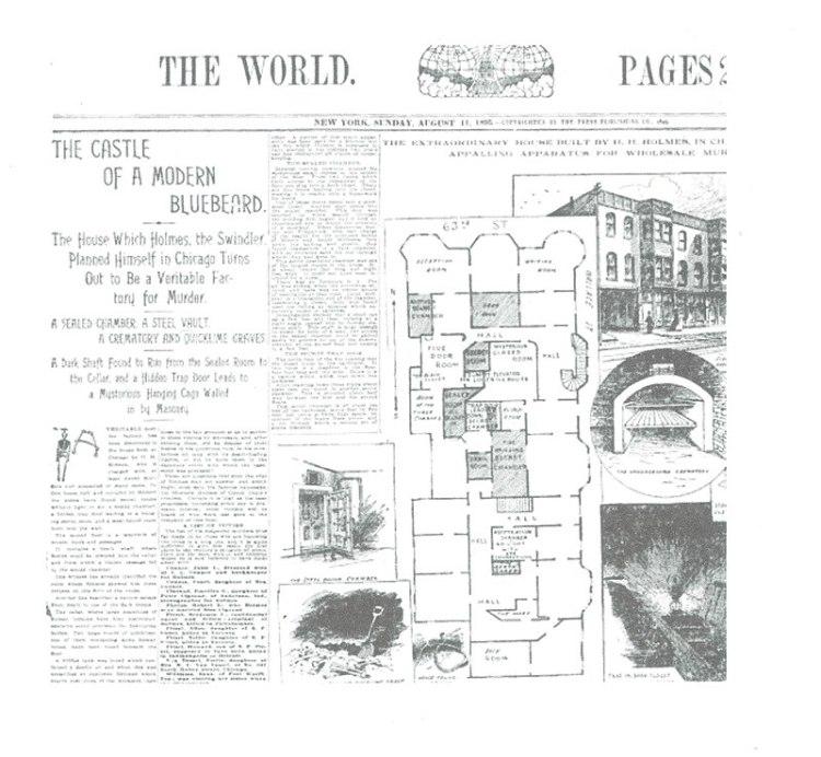 Holmes Newspaper Account